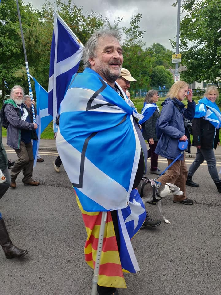 Oban Marchers