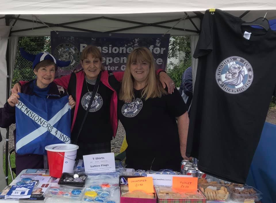 Oban March Stall